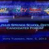 Sulphur Springs Union School District Candidates Forum