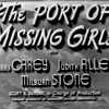 Port Of Missing Girls Featuring Harry Carey Sr.