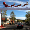 Old Town Newhall Main Street Holiday Decorations
