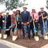 Performing Arts Center at Saugus High School Officially Underway