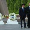 President Obama Lays Wreath at Hiroshima Peace Memorial