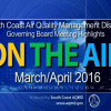 March/April 2016 Board Meeting Highlights