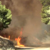 #SandFire Footage from News Source LA, 7-24-2016