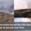Do Not Fly a Drone In a Fire Zone