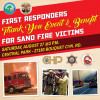 Community Invited to Sand Fire First Responder Thank You Event, Victim Benefit