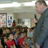 Sulphur Springs Elementary Pupils Meet Their Mayor
