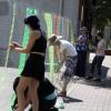 Forge Ahead Arts, Artist Diana Kado Create 'Barriers' Display