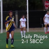 Women's Soccer Highlights: Santa Barbara Beats COC 2-1