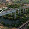 Animation: San Joaquin River Viaduct & Pergola