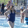 Swimmers Brave Cold Water in Annual Polar Bear Plunge