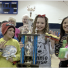 Boys & Girls Club of Newhall Hosts Pinewood Derby.