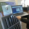 Library Laptop Kiosks