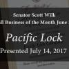 Senator Wilk Small Business of the Month: Pacific Lock Company