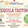 August 19: 2nd Annual Tequila Tasting