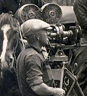 1930s film shoot