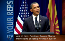1/12/2011 President Obama: Memorial to Tucson Shooting Victims