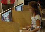 Valley View, Sulphur Springs Pupils Vote in Mock Election
