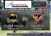 Golden Valley vs. Valencia: Girls