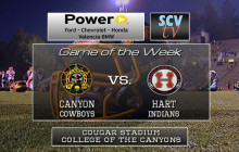 Canyon vs. Hart