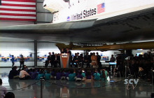 Space Shuttle Endeavour at California Science Museum