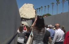Michael Heizer's Levitated Mass
