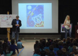 'Blue Dog' Artist Visits North Park School