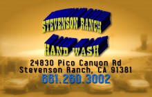 Stevenson Ranch Car Wash
