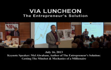 Entreprenuers Hold the Key to Economic Growth