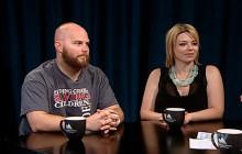 Cancer Survivors Kirsten Trimble and Brandon Ardnt