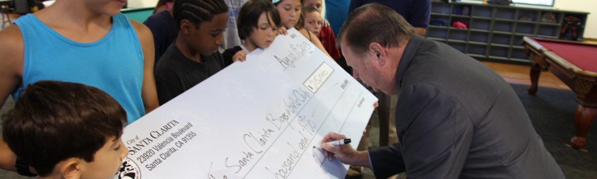 City Gives $25,000 to Boys and Girls Club