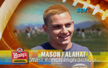 Mason Falahat, West Ranch High School