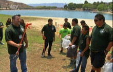 LA|NOW 165:  Eco-Rangers at Castaic Lake; Stowaway Cat
