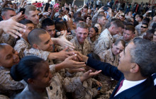 Obama Addresses Marines at Camp Pendleton