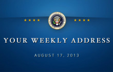 Weekly Address: Working to Implement the Affordable Care Act