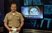 8 Hospitalized in Explosion at Navy Station; B-1 Bomber Crashes; more