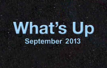 What's Up for September 2013