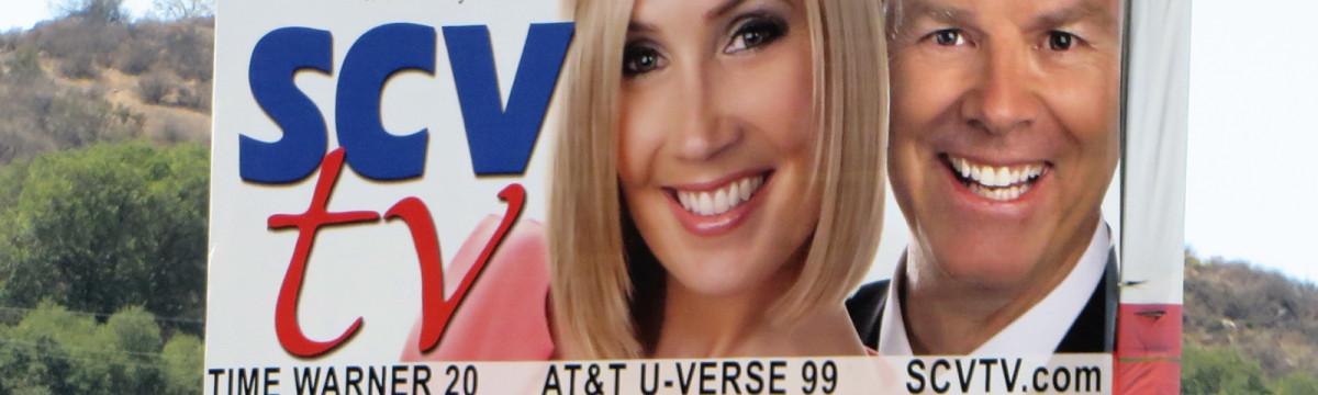 SCVTV's Newhall Avenue Billboard