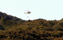 Stranded Hiker Airlifted Out of Placerita