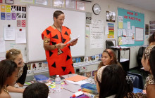 Cro-Magnon Day at Pico Canyon Elementary