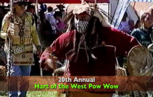 20th Annual Hart of the West Pow Wow PSA