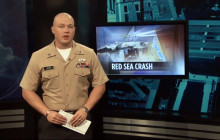 Helicopter Crashes In Red Sea; Honoring Fallen Troops at Navy Yard & in Afghanistan