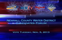 Newhall County Water District Candidates Forum