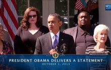 Statement on the Government Shutdown