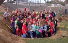 Rain Garden at Santa Clarita Elementary School