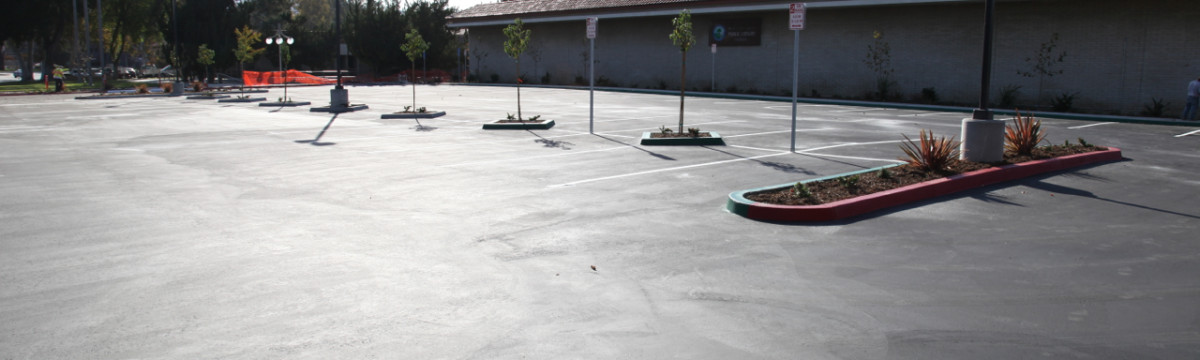 Valencia Library Parking Lot Expansion