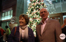 City Lights Up Main Street for the Holidays