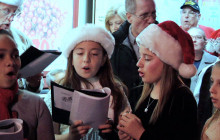 Christmas Caroling Through Old Town Newhall