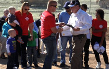 'Homes for Heroes' Groundbreaking Ceremony