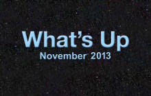 What's Up for November 2013