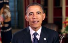 President Obama's Thanksgiving Message